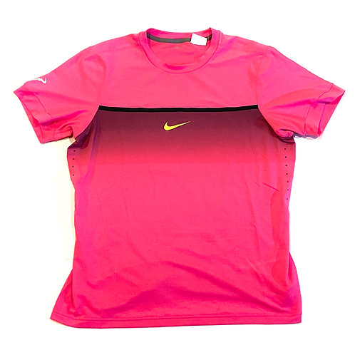 Rafael Nadal Match Worn Custom Nike Shirt 2015 Australian Open