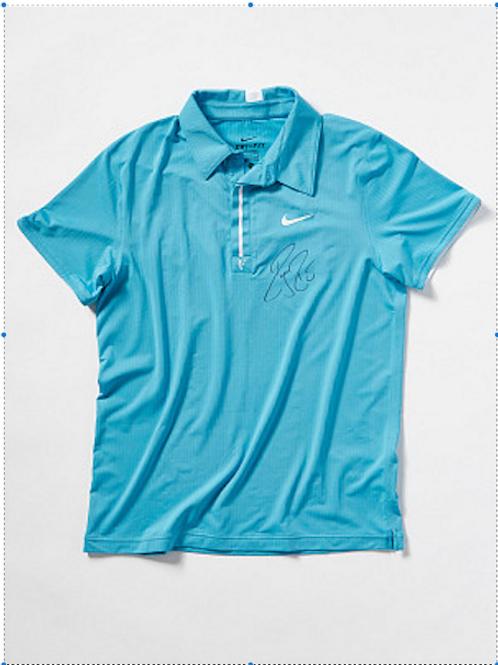 Roger Federer Match Worn Signed Custom PE Nike Shirt Australian Open 2010