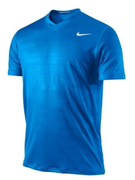Nike Fearless Tierra Jacquard Tennis Shirt