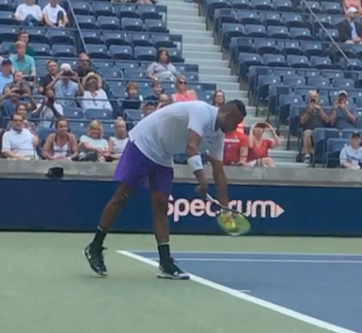 How Nick Kyrgios Gets Shocking Pace on His Serve