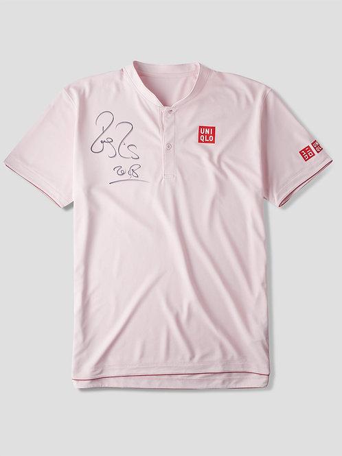 Roger Federer Match Worn Signed Uniqlo Shirt Basel 2018 - 99th Title