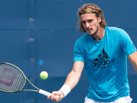 Stefanos Tsitsipas New Racket 2021 Wilson Blade