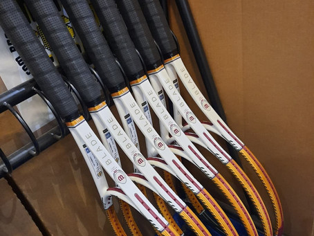 Ugo Humbert New Racket 2021 Wilson Blade