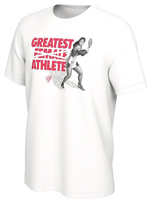 Nike Serena Williams Greatest Athlete Ever GOAT Limited T-Shirt