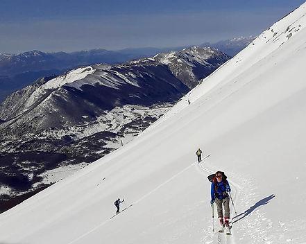 sci alpinismo Majella