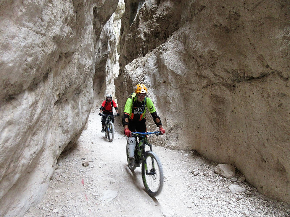 percorso mountain bike in Abruzzo