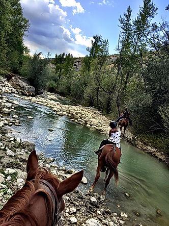 passeggiata a cavallo in Abruzzo