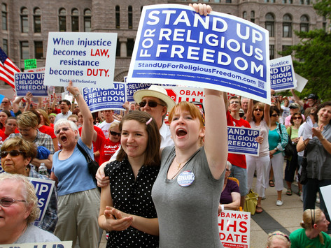 The New Fight For Religious Freedom