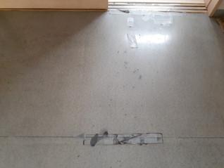 床の張り替え