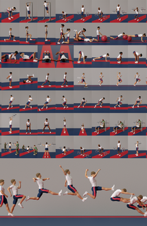 Illustrations, a total of 80, I did for Military Strength & Conditioning Manual of LO&Sportorganisation.  This manual will serve as a reference for education and training for unit personnel (Royal Army of the Netherlands).  LO&SPORTORGANISATION (KL) ROYAL ARMY MINISTRY OF DEFENSE  THE NETHERLANDS