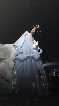 chang'e the moon goddess. //