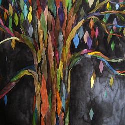 """watercolor, 9"""" x 12"""", 2011"""