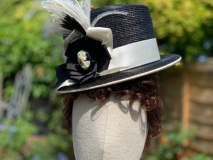 Straw riding hat (16)