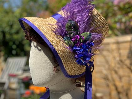 Regency Straw Bonnet (39)