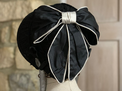 1850s Victorian Bonnet (8)