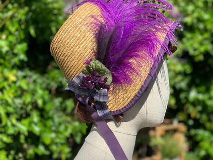 Regency straw Bonnet (36)