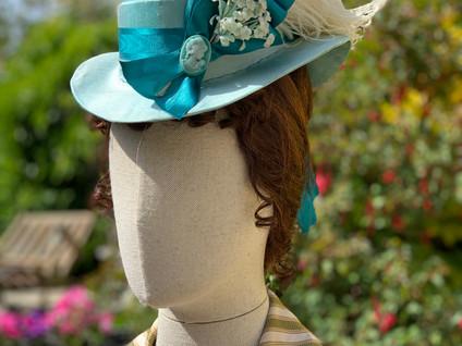 Victorian Bustle Era Hat (8)