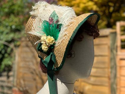 Regency Straw Bonnet (35)