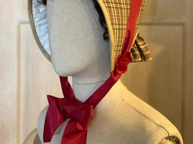 1840s Victorian bonnet (4)
