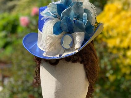 Victorian bustle era hat (16)
