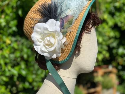 Regency Straw Bonnet (37)