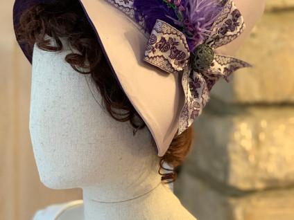 Regency Stovepipe Bonnet (26)