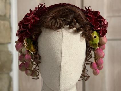 Mid Victorian Evening Headdress. (10)