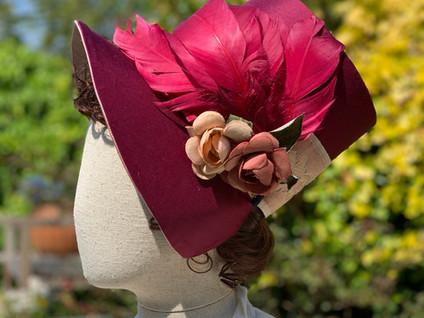 Regency Stovepipe Bonnet (20)