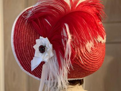Regency Straw Bonnet (34)