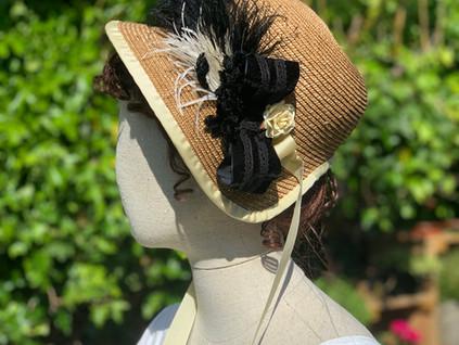 Regency Straw Bonnet (38)