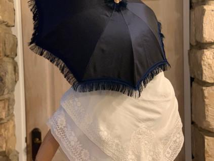 Antique Sangsters carriage parasol (18)