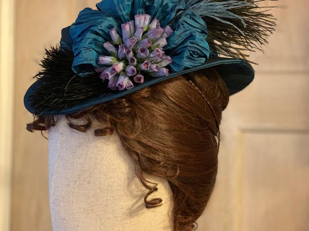 Victorian bustle era hat (9)