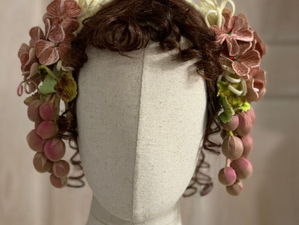 Mid Victorian Evening headdress (12)