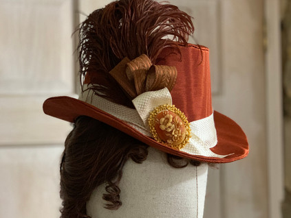 Victorian riding style hat (3)