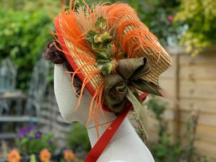 Regency Straw Bonnet (33)