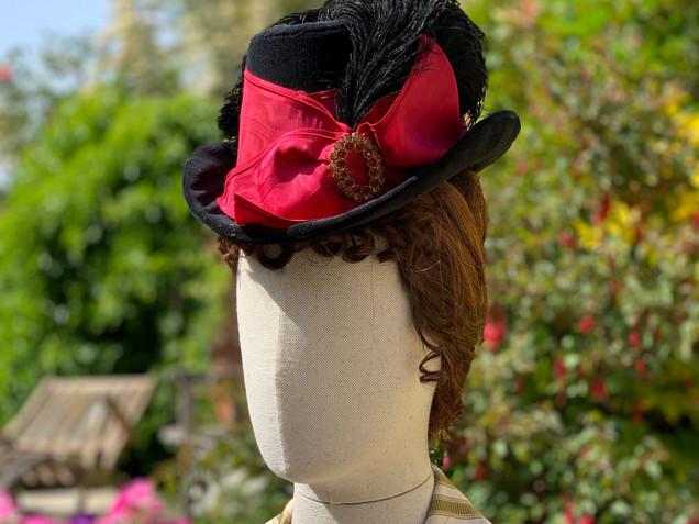 Victorian bustle era hat (12)