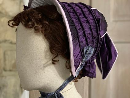1850s Victorian Bonnet (7)