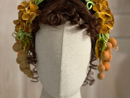 Mid Victorian Evening Headdress (11)
