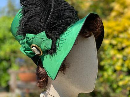 Regency Stovepipe Bonnet (21)