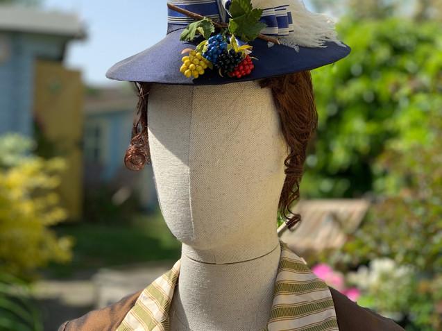 Victorian bustle era hat (10)