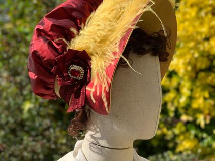 Regency Soft Backed Bonnet (10)