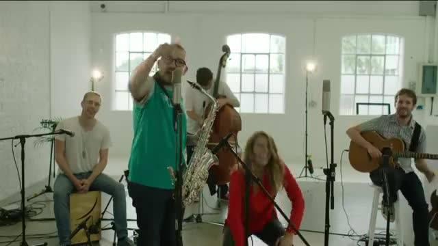 Frisk band livestream for Gumtree UK