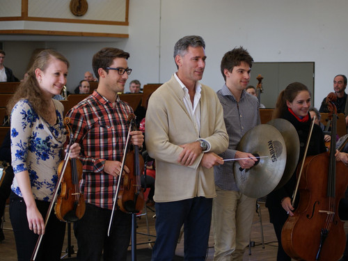 Philharmonie SWF and Charles Olivieri-Munroe open new initiative with University