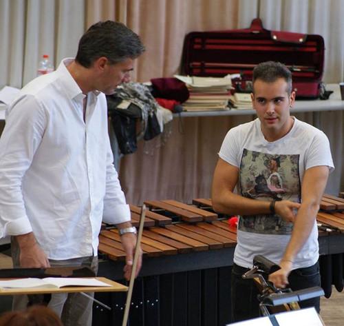 Tonight! Charles conducts Philharmonie SWF featuring Percussionist Simone Rubino