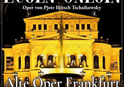 Tonight! Charles conducts Evgeny Onegin at the Frankfurt Alte-Oper in collaboration with the Marinsk
