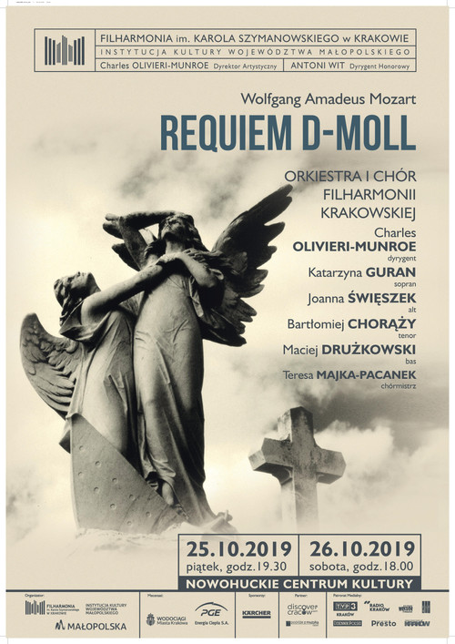 Charles Olivieri-Munroe and Mozart`s Requiem Performances Friday and Saturday in Cracow