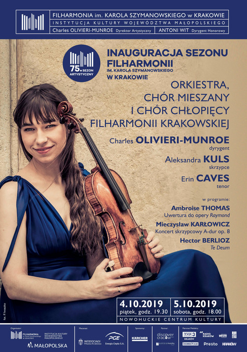Charles opens 75th concert season with Cracow Philharmonic & Chorus
