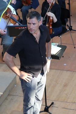 In rehearsal at the Murten Festival