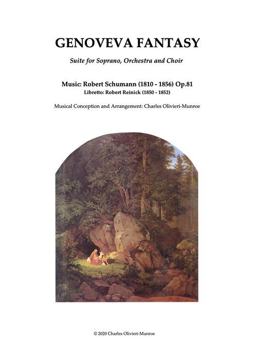 Tonight! World premiere of Robert Schumann`s Genoveva Fantasy, suite for orchestra and soprano
