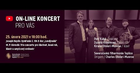 Tonight! Czech premiere of Gorecki`s TRIO Concerto performed by Kirana Olivieri-Munroe